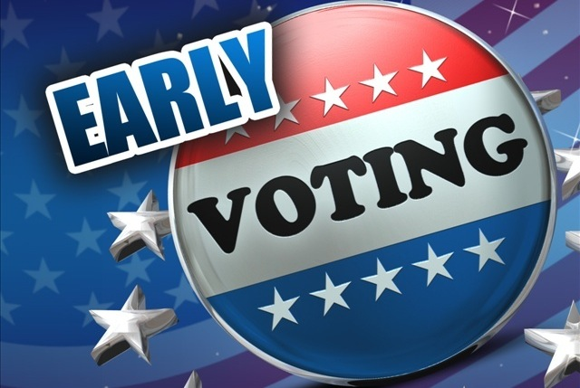 Early voting turnout at 49% through Friday
