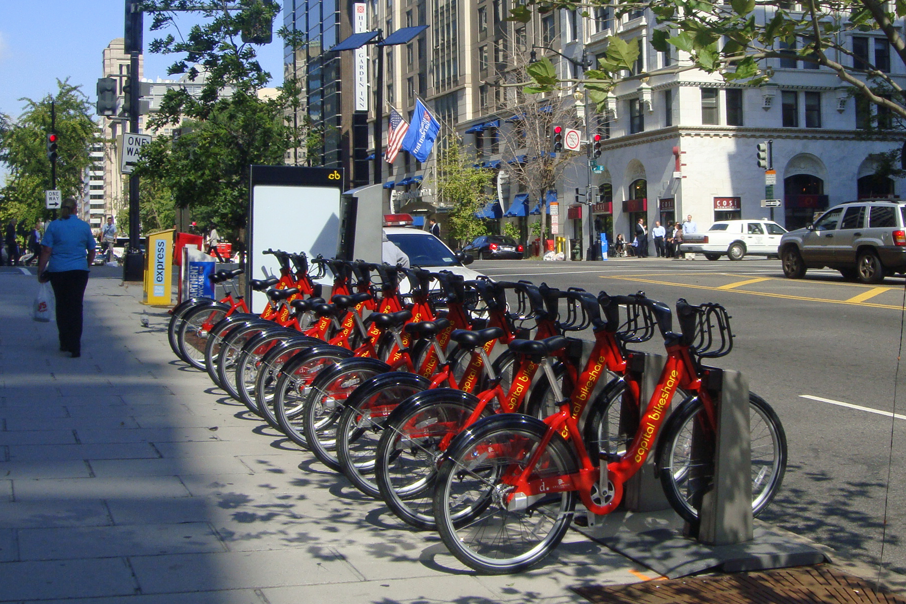 City Bikes In Dc in Washington D C