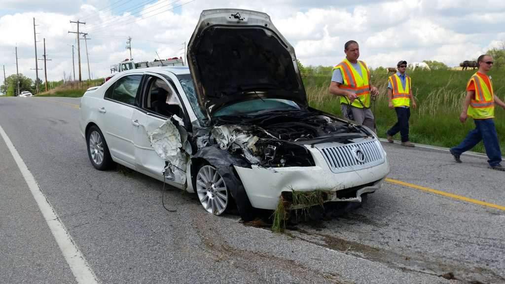One Injured In Accident Near Dubois Crossroads