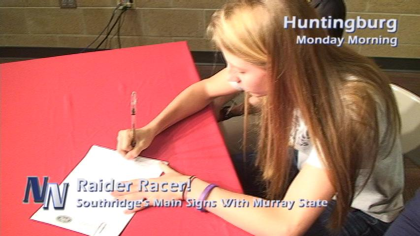 A Raider Racer; Southridge's Main Signs With Murray State (VIDEO)