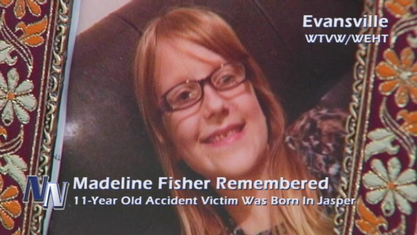 Madeline Fisher Remembered; Dubois County Native Was Killed In Evansville Accident (VIDEO)