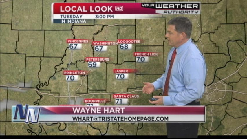 Temperatures Drop Says Metorologist Wayne Hart (VIDEO)