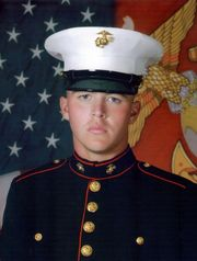 Lance Cpl. Alec Terwiske was killed in Afghanistan Lance Cpl. Alec Terwiske was killed in Afghanistan in September 2012. Terwiske is one of 12 fallen heroes that will be honored on the Licking County Magic's baseball jerseys this Memorial Day weekend. (Photo: Submitted photo)