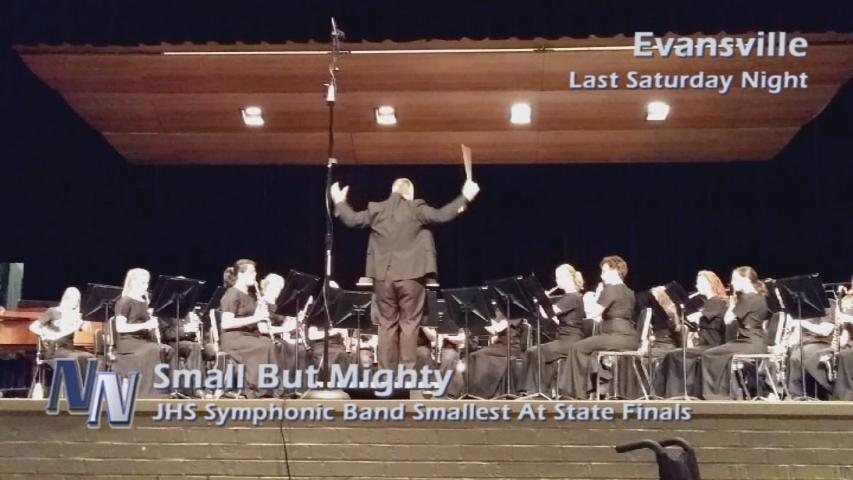 Small But Mighty JHS Symphonic Band Back At ISSMA State Finals Today (VIDEO)