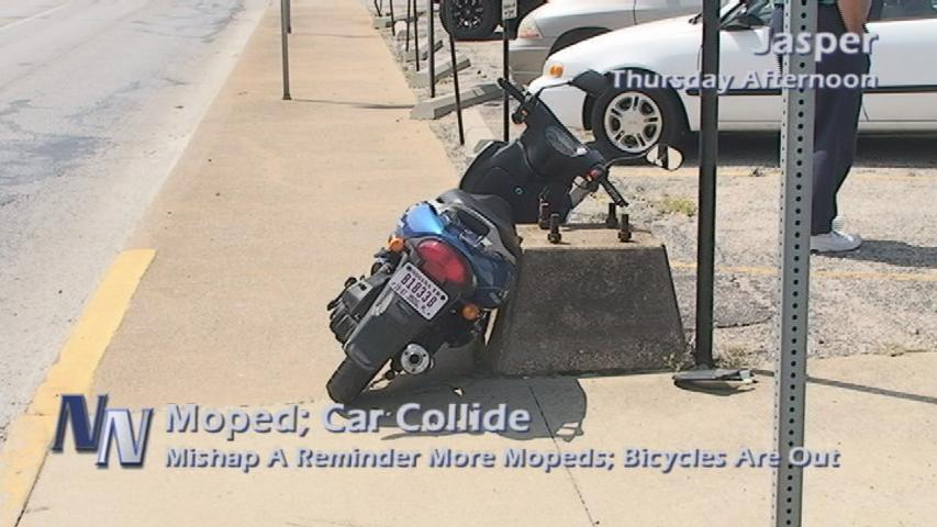 Moped Accident Reminder Its That Time Of Year (VIDEO)