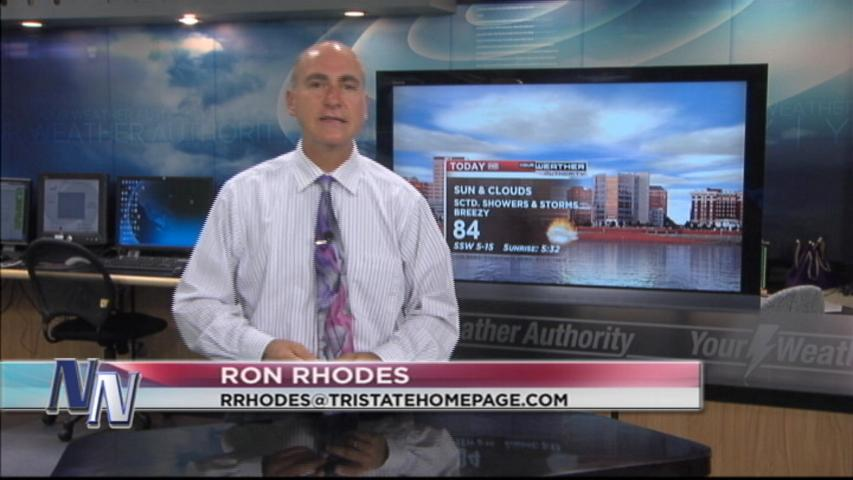 Wednesday Weather Forecast From Meteorologist Ron Rhodes (VIDEO)
