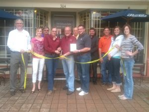 The Grand Opening of the Old School Cafe in 2009. Photo: Huntingburg Chamber of Commerce