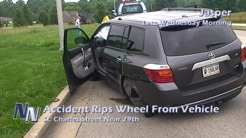 Accident Injures One Of The Drivers Involved; The Other Cited By Police (VIDEO)