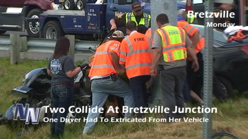 UPDATE: DCSD Says Extricated Driver Treated & Released From Hospital (VIDEO)
