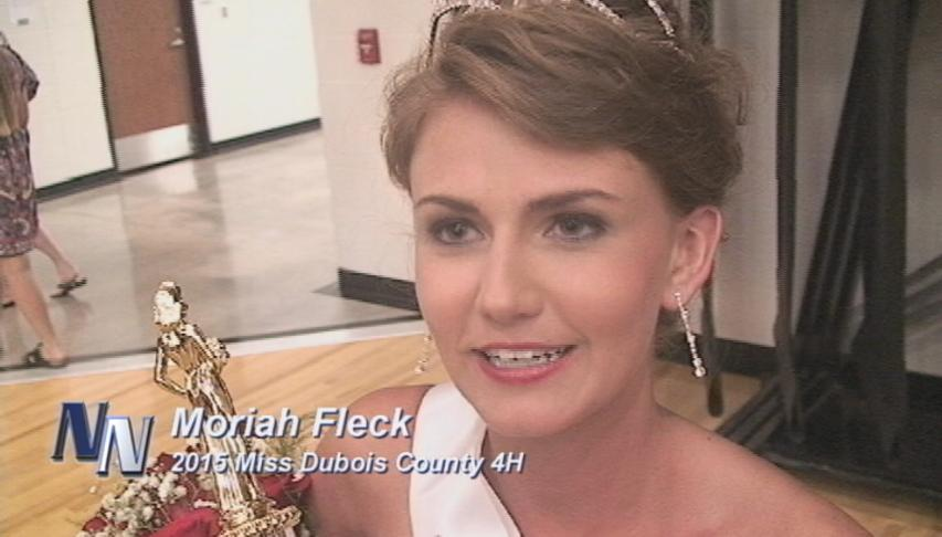 2015 Dubois County 4H Royalty Crowned (VIDEO)