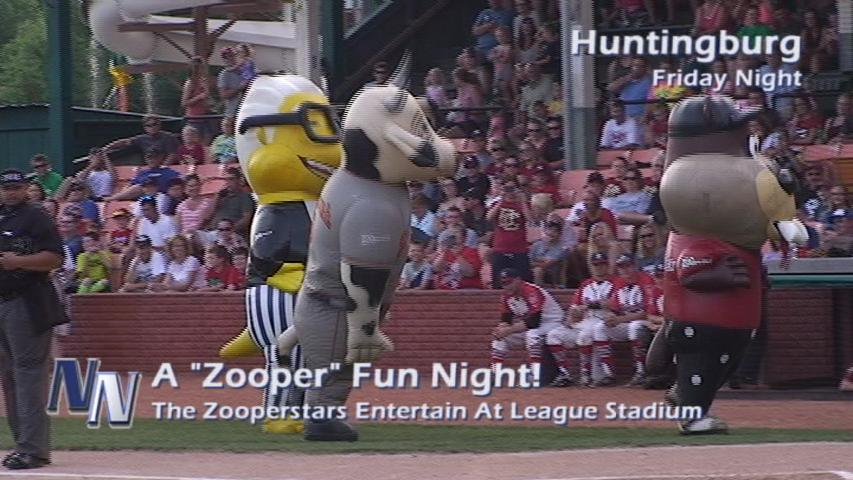 """A """"Zooper"""" Night At The Ballpark (VIDEO)"""
