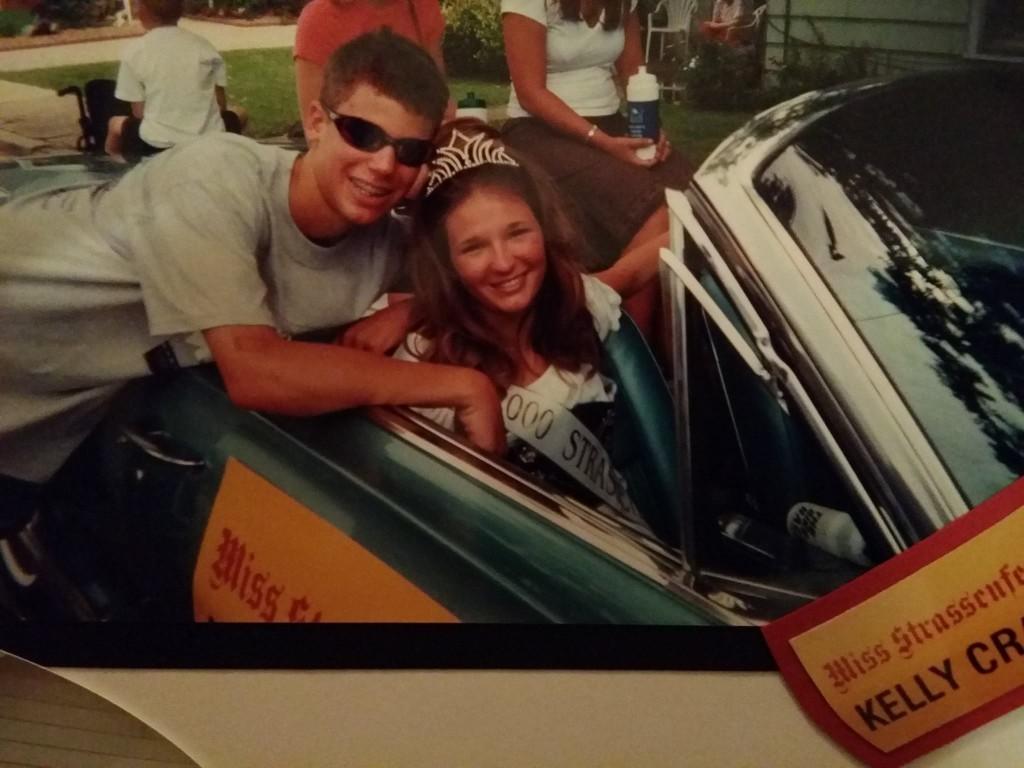 Less than 13 months after the accident, Kelly was named the 2000 Jasper Strassenfest Queen