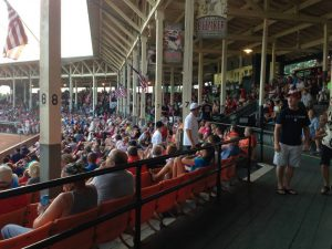 The Bombers lead the OVL in home attendance. PHOTO: Dubois County Bombers