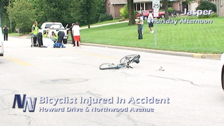 18-Year Old Bicyclist Injured In Accident Thursday In Jasper (VIDEO)