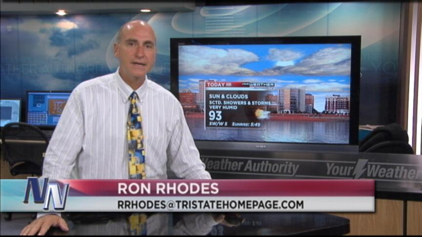 Heat Advisory Remains Today Says Ron Rhodes; Tonight? (VIDEO)