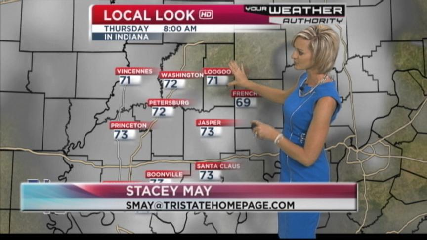Warm But Not As Humid Today Says Meteorologist Stacy May (VIDEO)