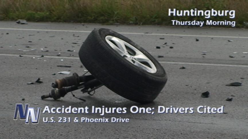 Two Injured In Separate Traffic Accidents (VIDEO)
