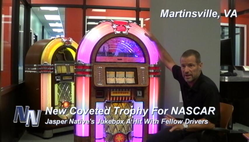"New 'Trophy' A ""Hit"" In NASCAR (VIDEO)"
