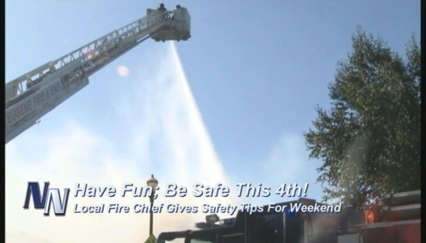 Fire Chief Talks About Having A Fun & Safe 4th Of July Weekend (VIDEO)