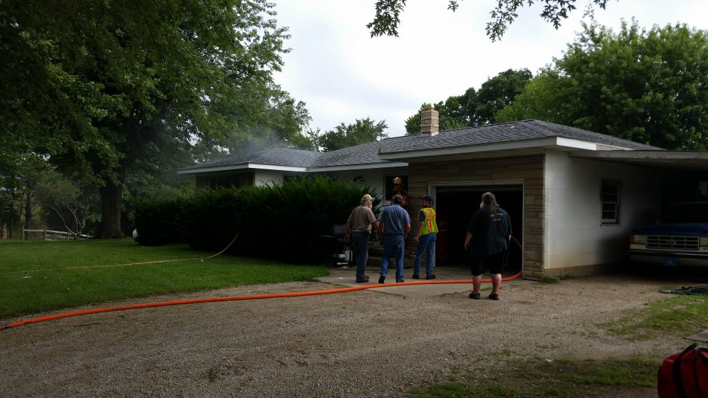 House Fire West of Mentor Contained Quickly