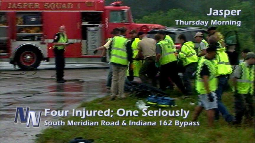 Southside Jasper Accident Injures Four; One Critically (VIDEO)