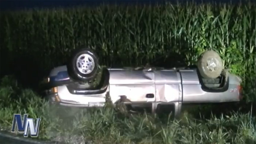 Driver Injured In Rollover Accident Near Dubois (VIDEO)