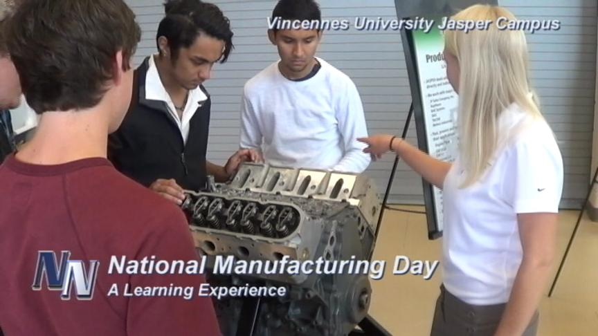 VUJC;  Dubois Strong Host National Manufacturing Day (VIDEO)