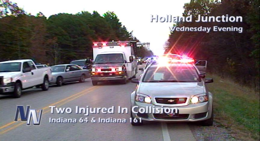 Two Injured In Holland Junction Accident (VIDEO)