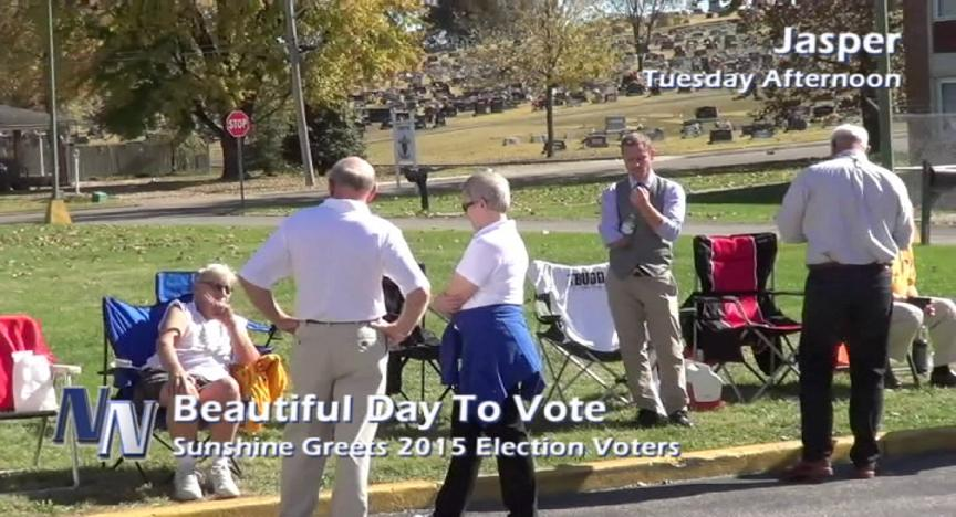A Beautiful Day To Go Vote!!! (VIDEO)