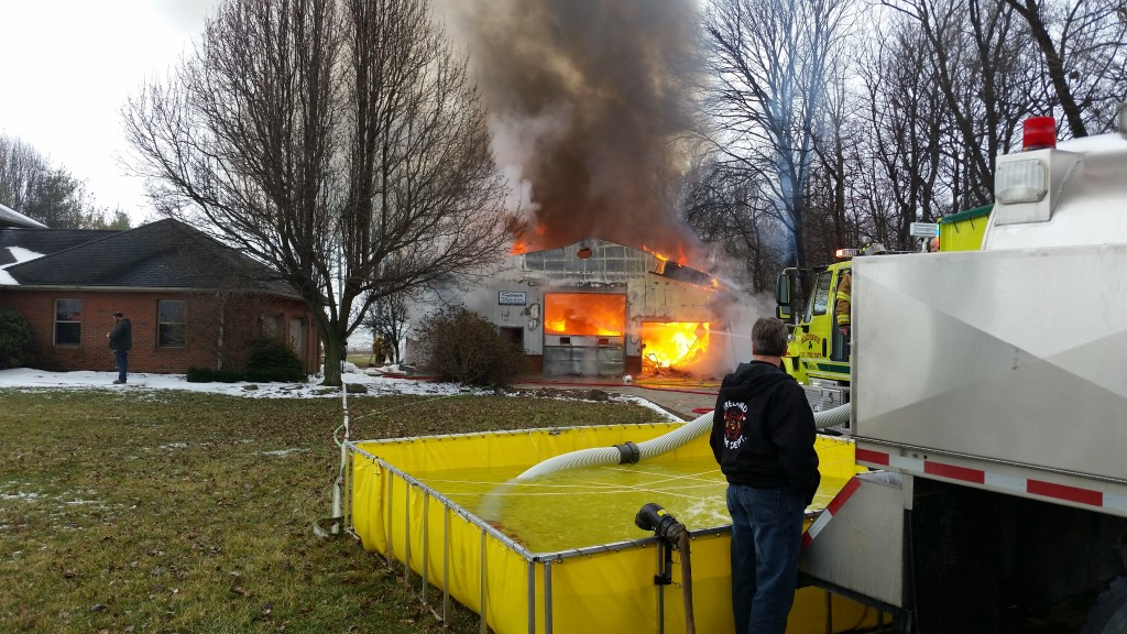 Fire At Ireland Area Business