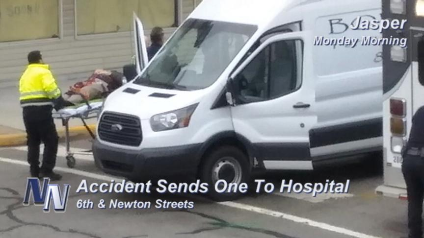 Accidents Send Two To Hospital (VIDEO)