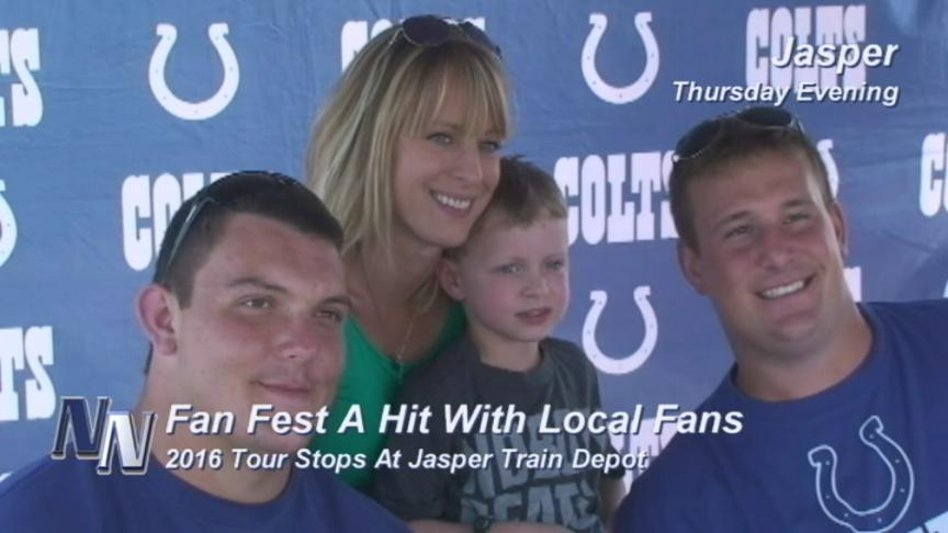"""Colts Fans Enjoy Game Day Experience At """"Fan Fest!""""  (VIDEO)"""