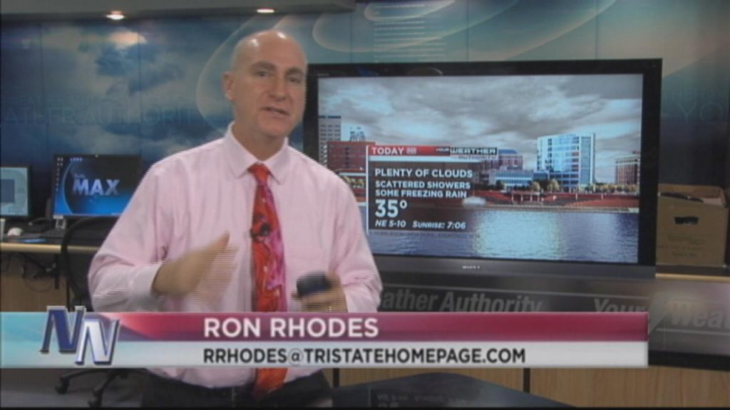 "Freezing Rain ""Advisory"" Remains Until Early Tonight Says Ron Rhodes (VIDEO)"