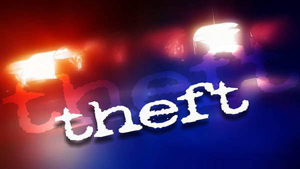 Jasper Police Department report a rash of thefts from vehicles this month
