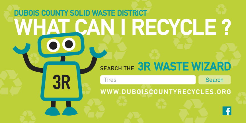 Dubois County Solid Waste District Process Center open Saturday October 3rd