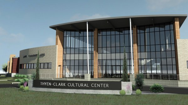 The Art Gallery at the New Thyen-Clark Cultural Center is now open to the public under restrictions