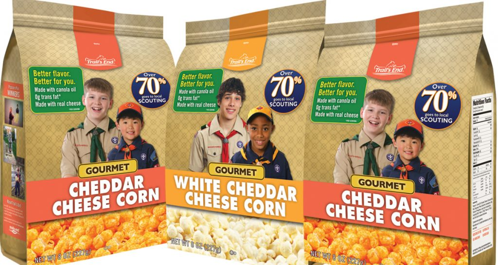 Scouts Popcorn Sales Official Kick Off!