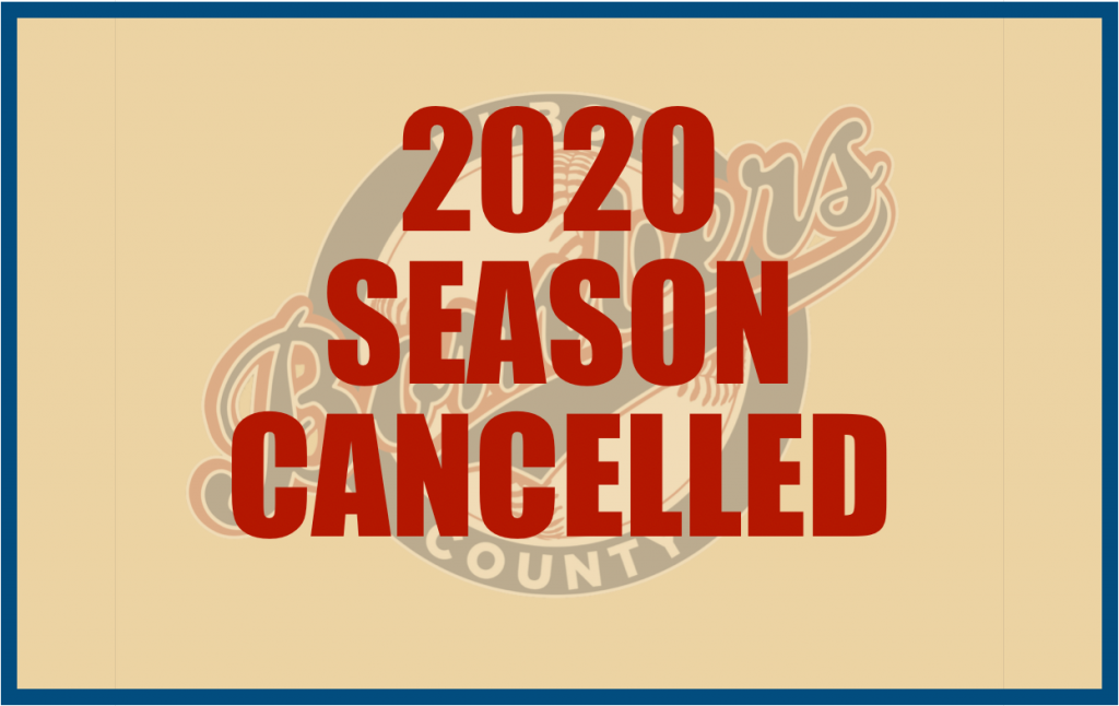 2020 Season Cancelled for the Ohio Valley League