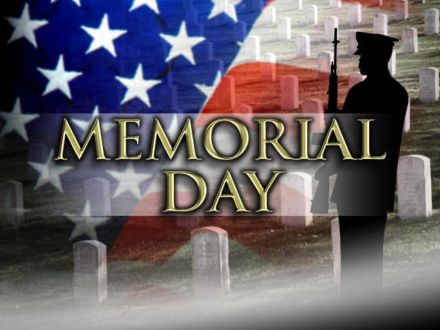 Happy Memorial Day from everyone at News Now! Enjoy this gorgeous weather but remember to true meaning of this day!