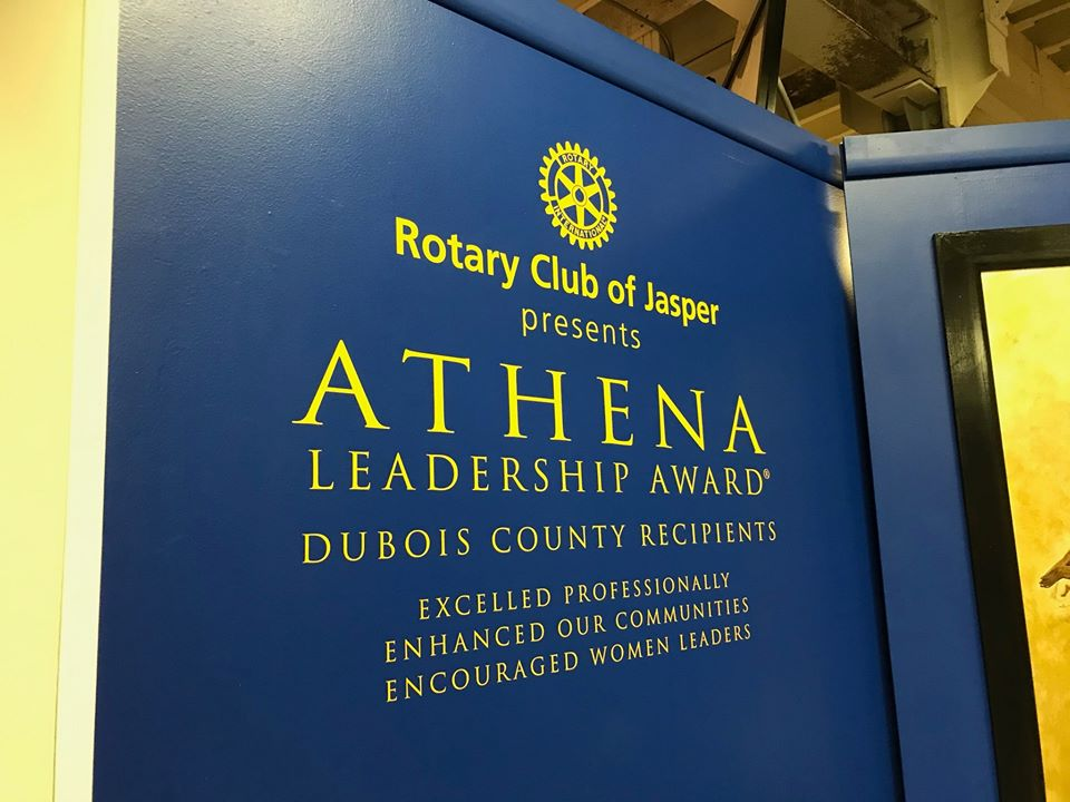 Rotary ATHENA finalist named for 2021
