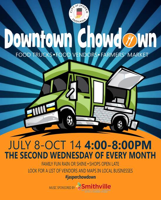 DownTown ChowDown Success On It's First Day (Click icon for pictures and videos of the event)