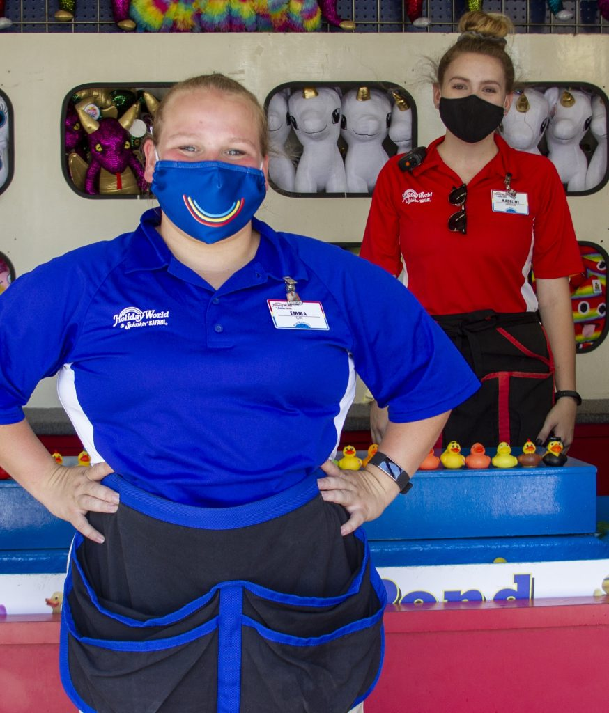 Holiday World GuestsRequired to WearMasks Starting Monday, July 27