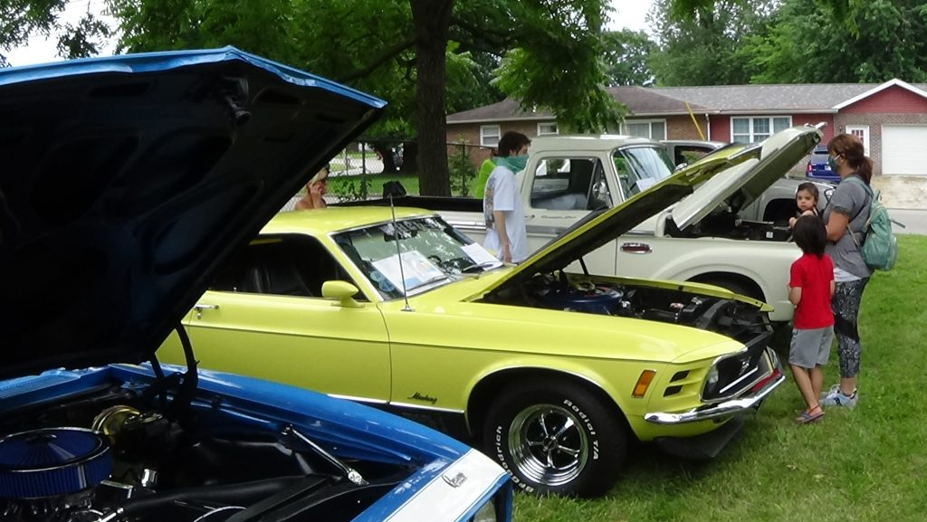 Fun Day at the Museum with Impressive Car Show (Click icon for pics and Vids)