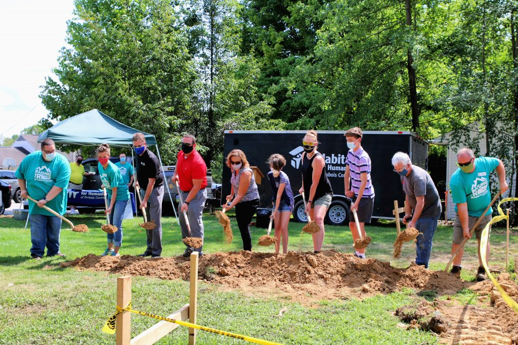 Habitat for Humanity of Dubois County officially begins new Habitat home