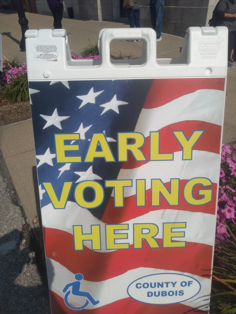 Early Voting Pretty Brisk Tuesday