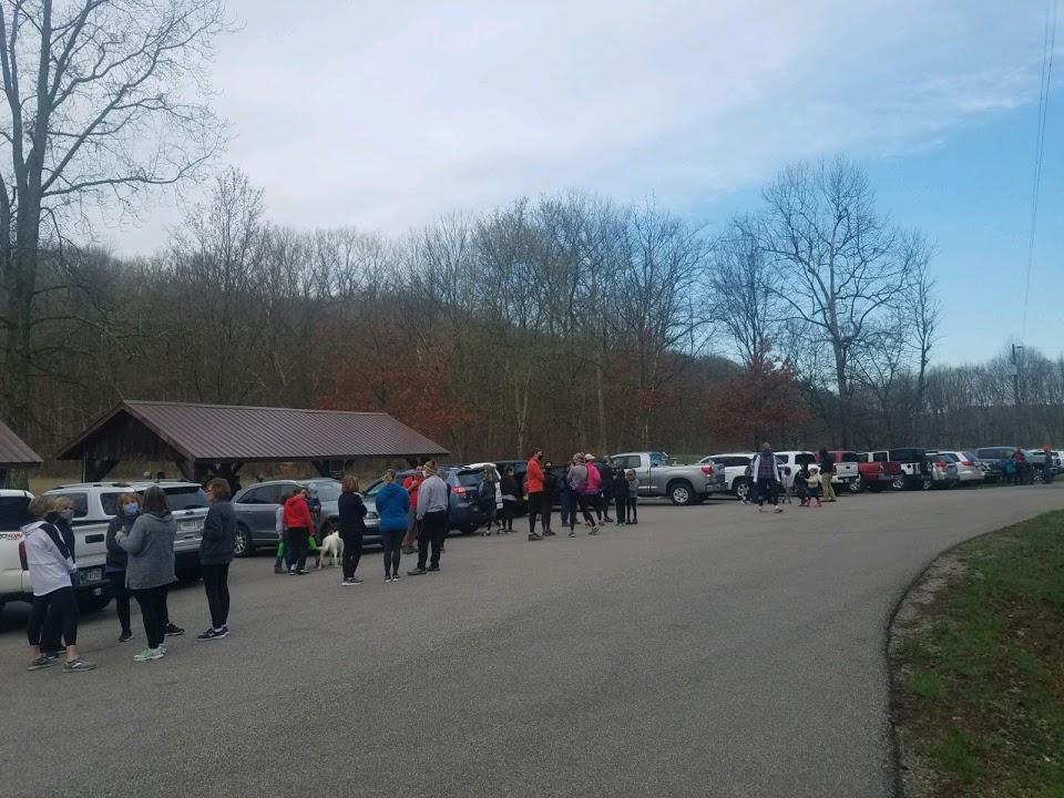 Nice turnout for the annual Cabin Fever Hike